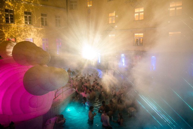 Lukacs Baths Budapest Spa Party Design